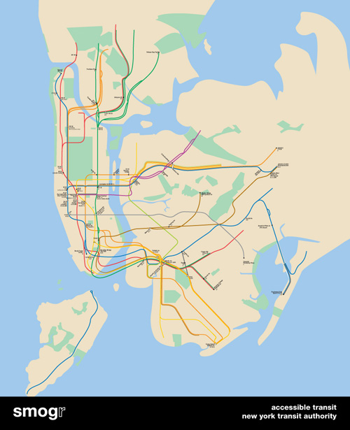New York Subway Map 2008.Gotham Gazette The Wonkster Blog Archive View Of The Subway