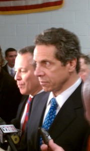 Andrew Cuomo and Eric Schnedierman