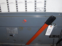 Photo of NYC Lever Voting Machine