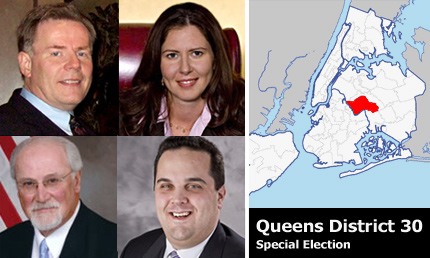 queens District 30 candidates