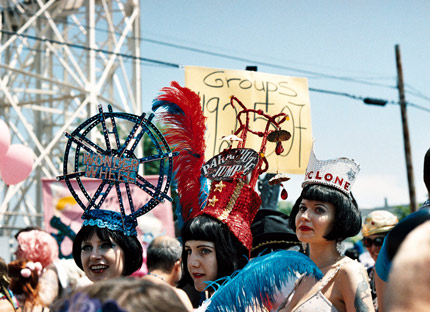 mermaid parade, photo by Gail Robinson