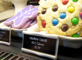 rainbow cookie at starbucks