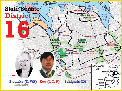 New York State Senate District 16