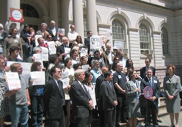 Rally for Landmarks Preservation
