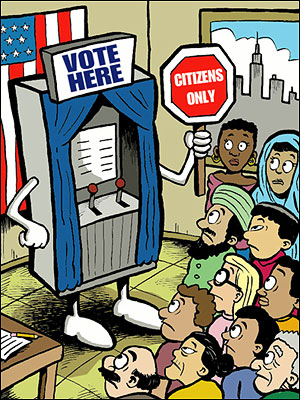 Citizenship and Voting