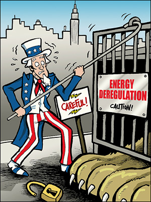 Deregulation is Let Out of the Cage