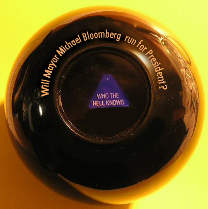 Ask the magic eight ball, will he run?