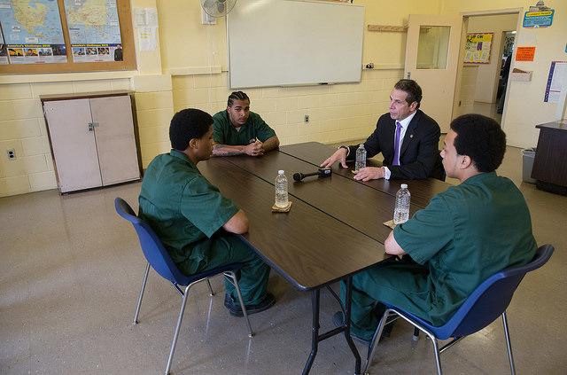 Cuomo inmates raise the age