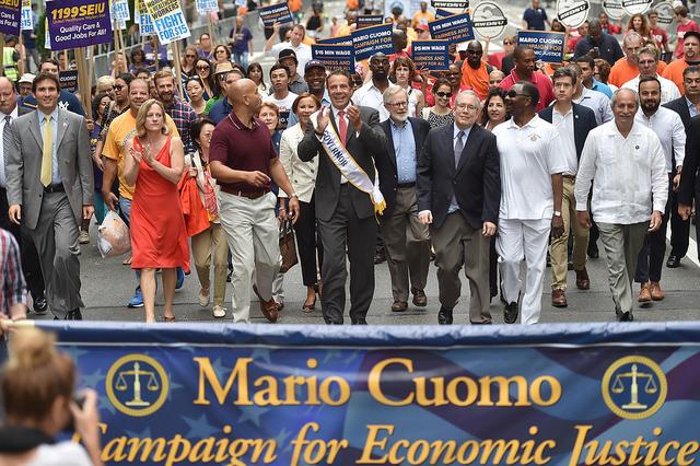 Cuomo labor day parade