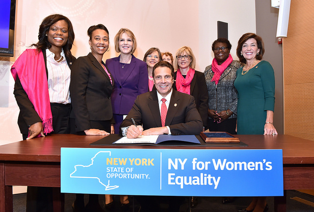 Cuomo women's equality