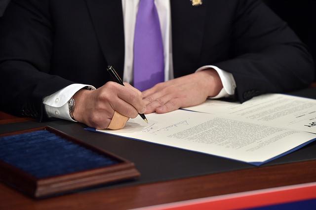 cuomo desk legislation signing