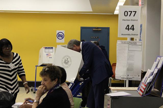 de blasio voting charter
