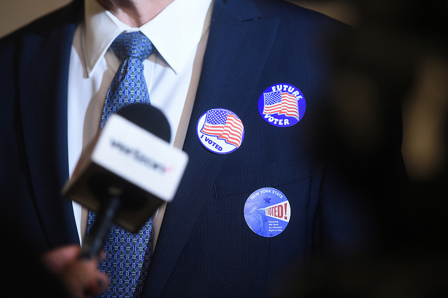 Cuomo voting New York