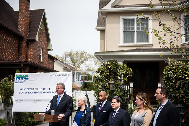 bdb water bill rebate bay ridge