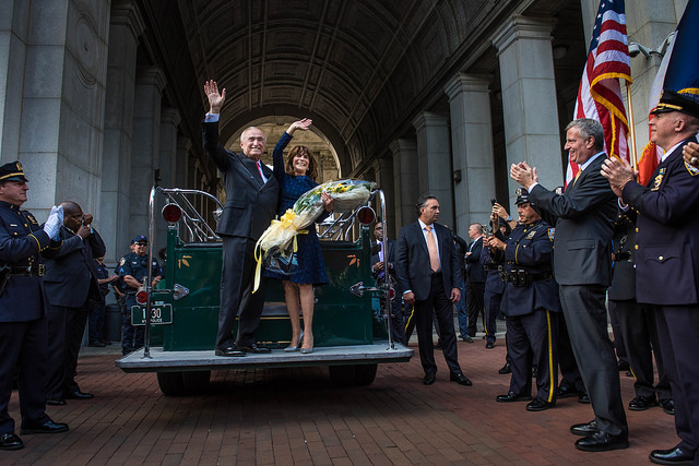 Bratton departure NYPD 1PP