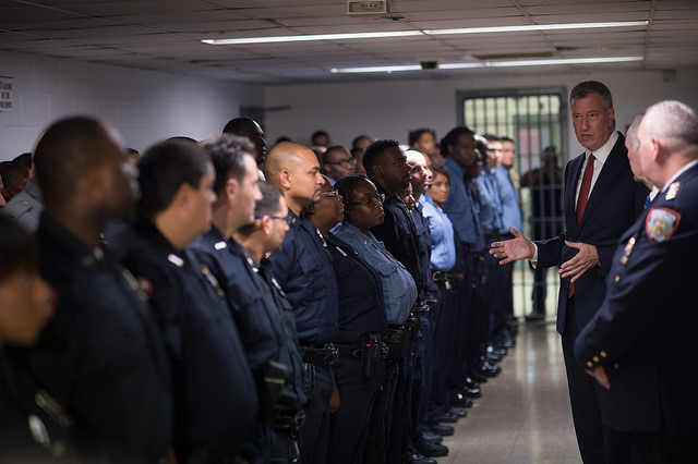 De Blasio Rikers Bronx Jail