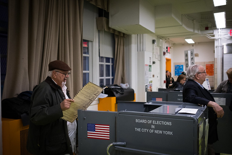 voting in new york city ballot RCV story