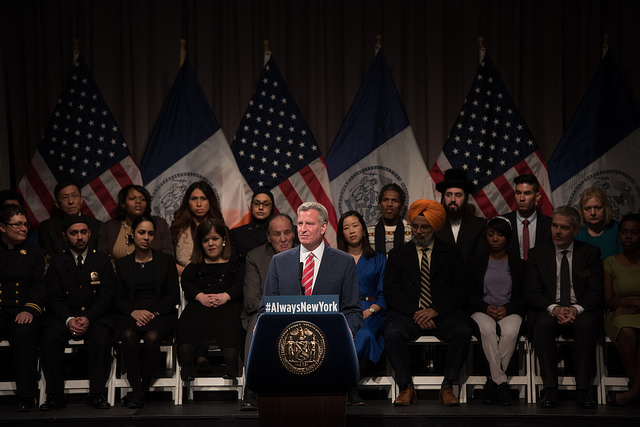de blasio cooper union speech