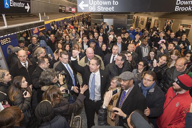 MTA Cuomo finances