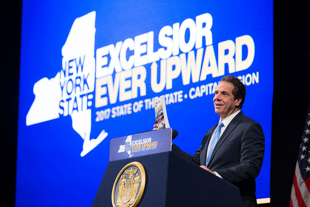 Cuomo State of the State Excelsior booklet