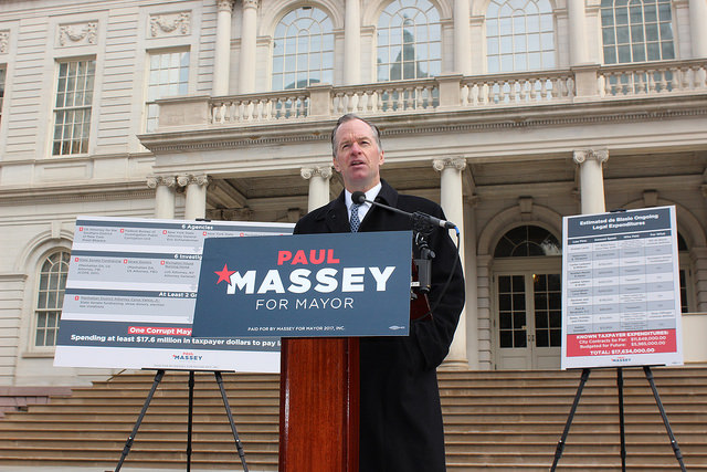 Massey City Hall presser BdB