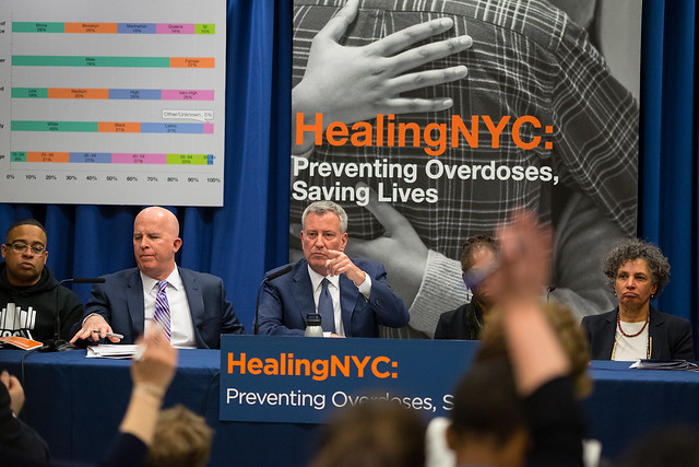 New York City opioid treatment