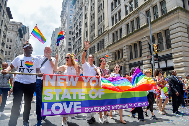 Cuomo New York equal rights pride