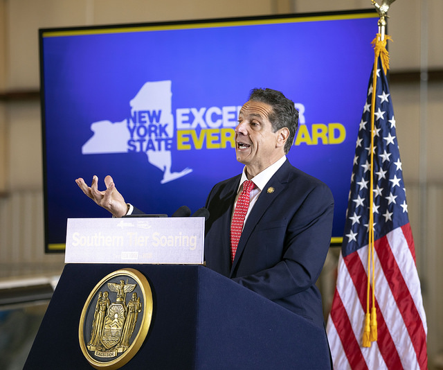 Governor Cuomo third term