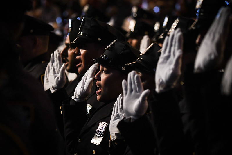 NYPD recruits oath
