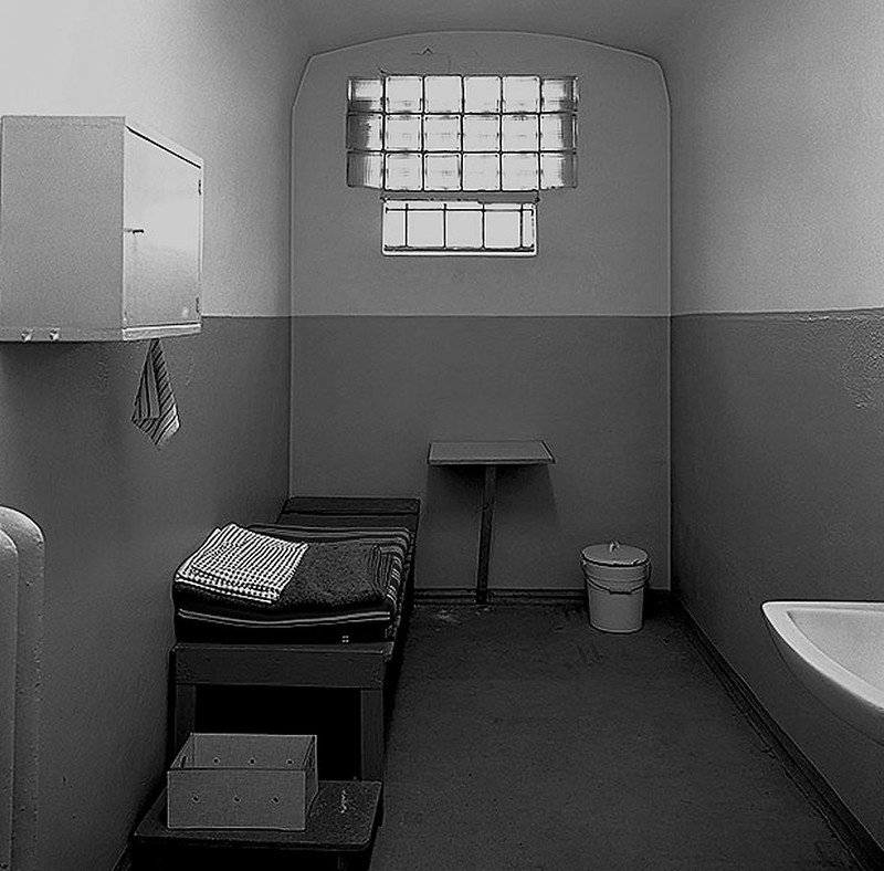 solitary confinement jail cell
