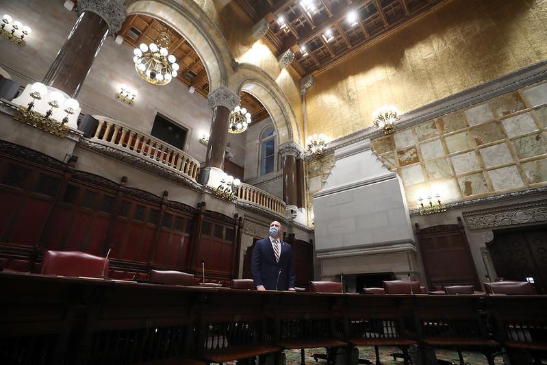 State Senate empty
