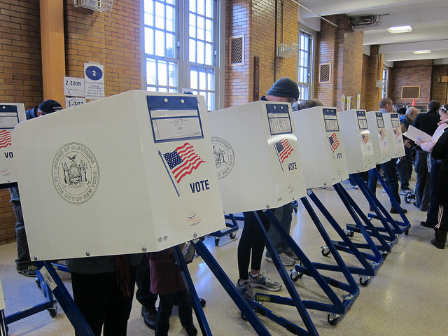 voting booths elections campaign finance