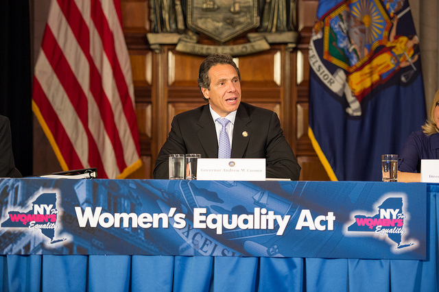 cuomo women's equality act
