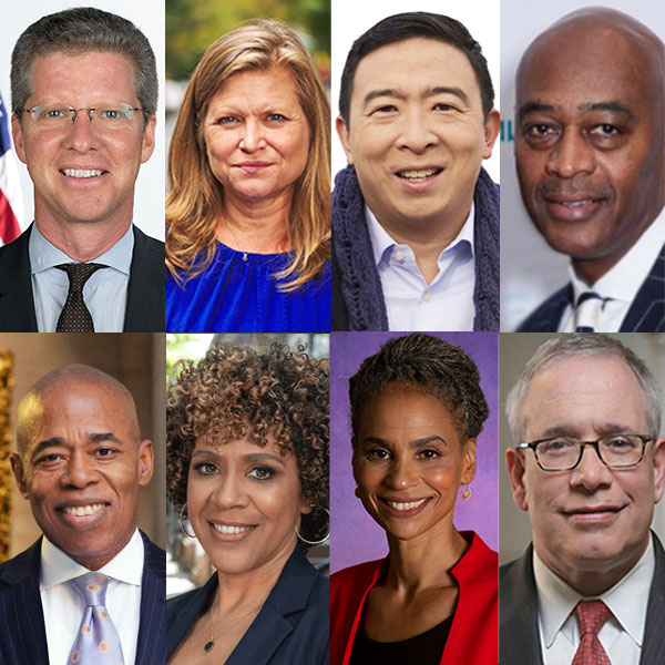 8 Democrats mayor nyc