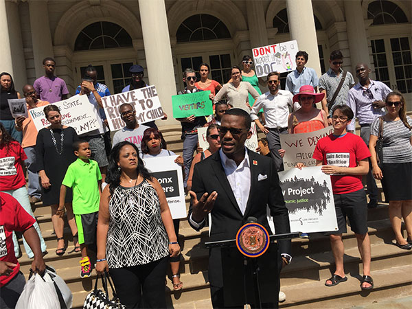 Johnny Perez of the Jails Action Coalition