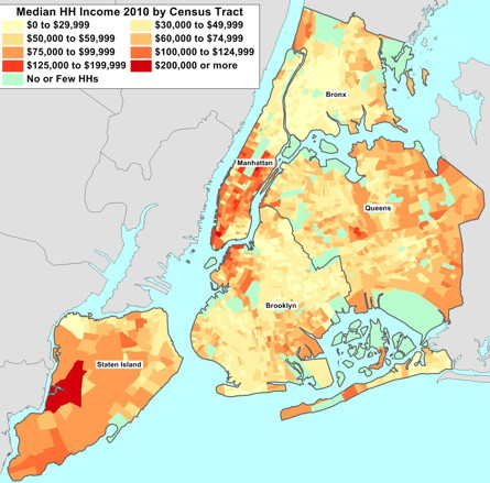 Topics Demographics - New york city election district map