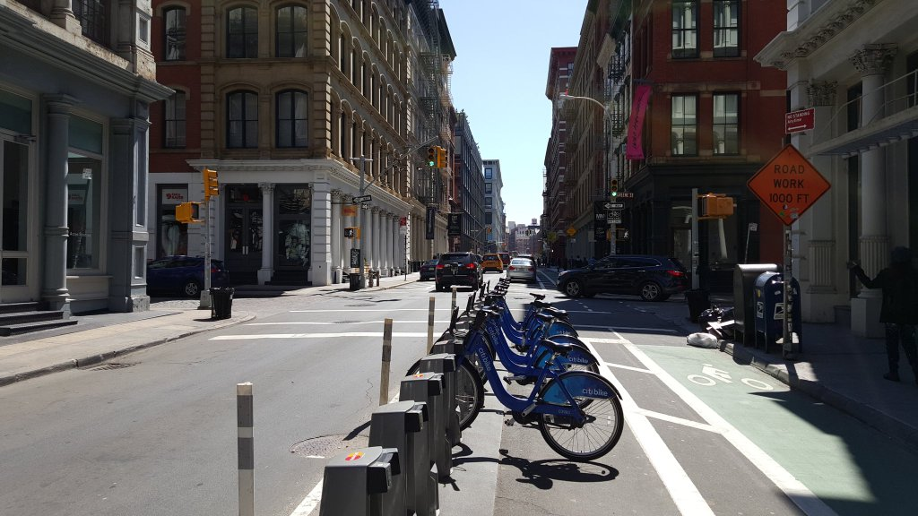 citi bike photo empty