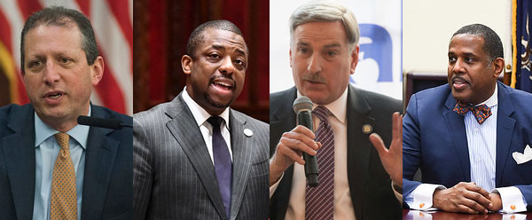 city comptroller candidates 4 Dems