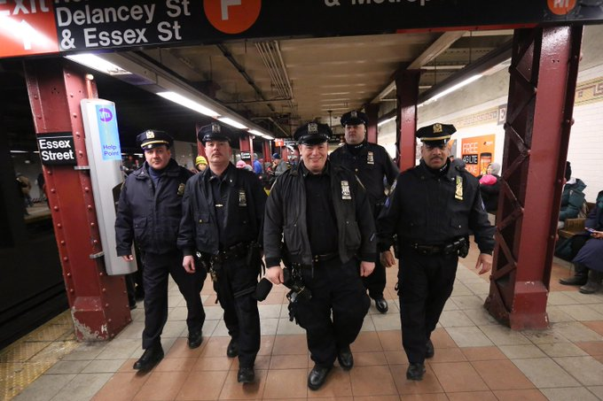cops subways nypdnews