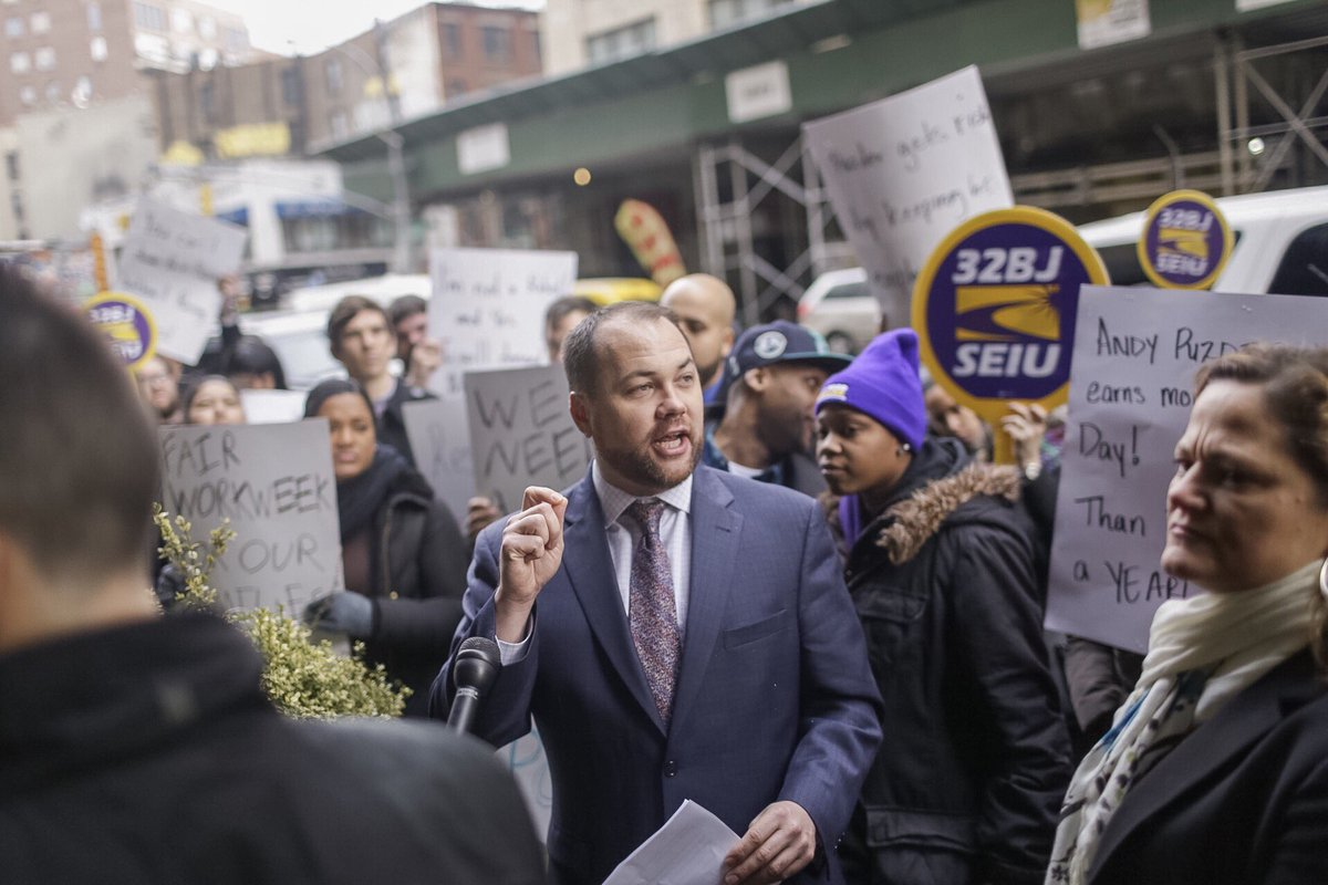 corey johnson rally via city council