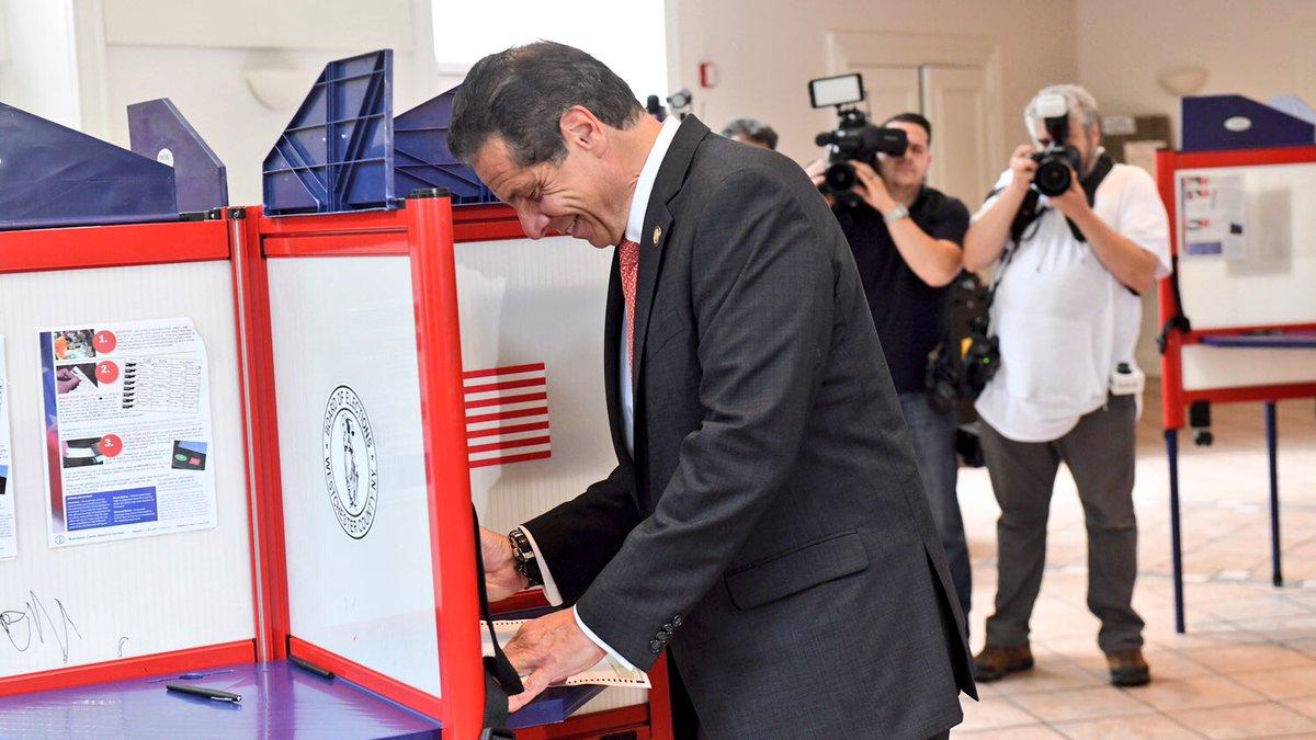 cuomo voting 2018 primary