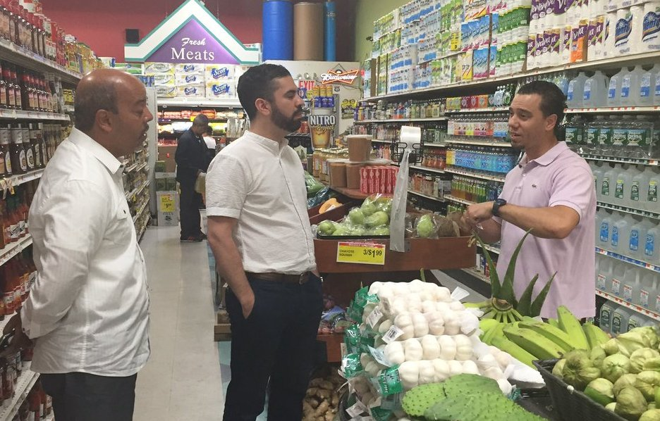 espinal supermarket tour