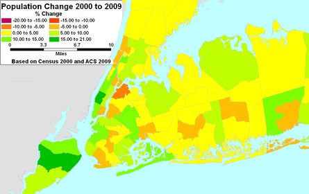 New York state population