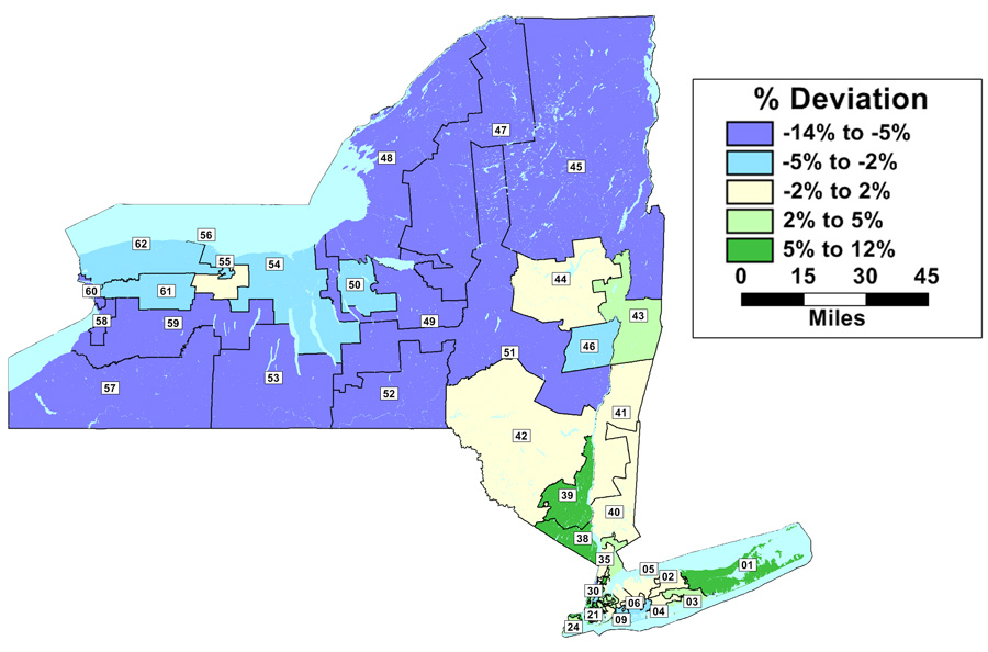 Map Of Ny State Embly Districts on