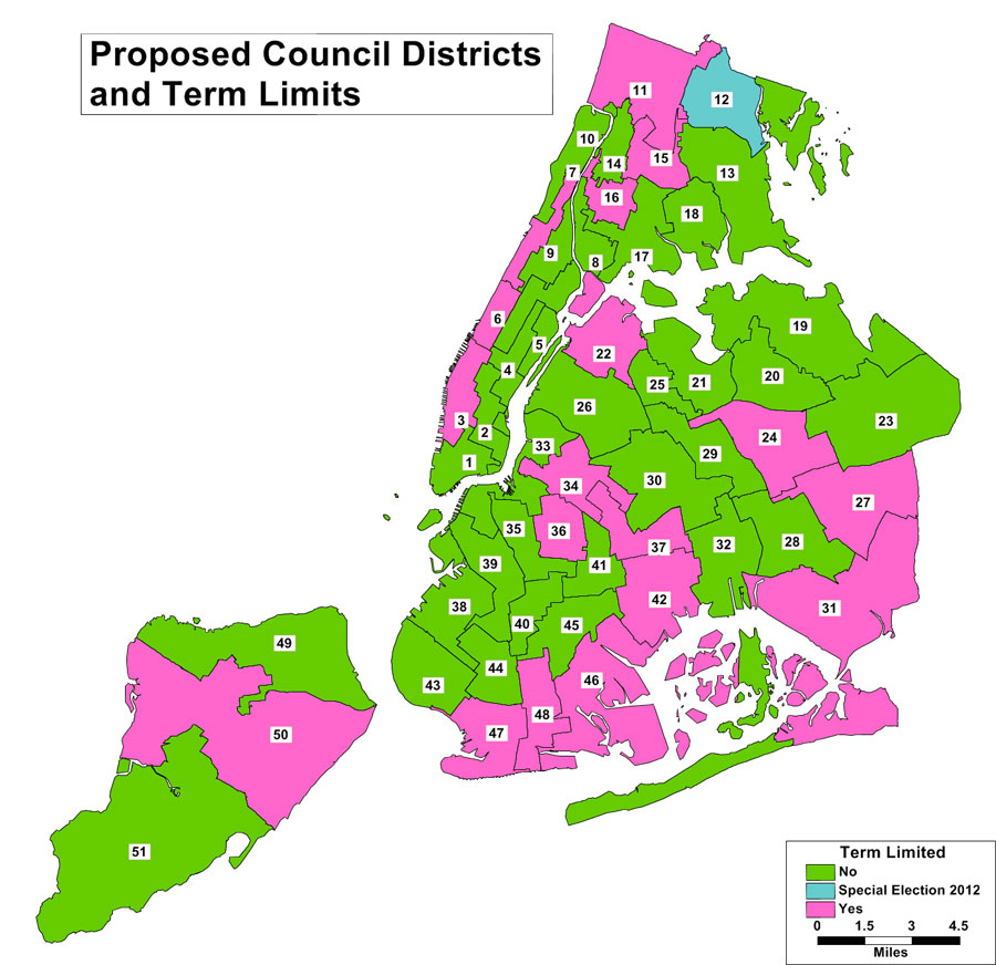 Proposed City Council District Map Protects Incumbents
