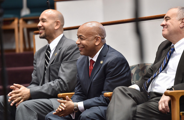 Heastie laughing