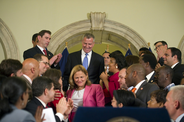 de blasio mark-viverito council members