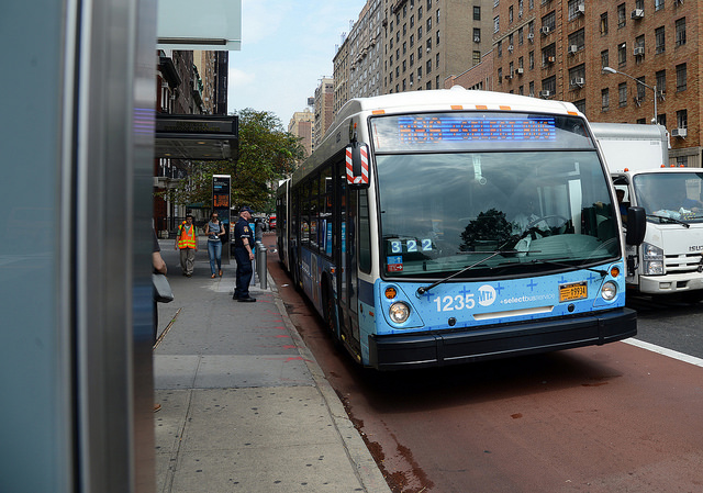 bus mta photo m86