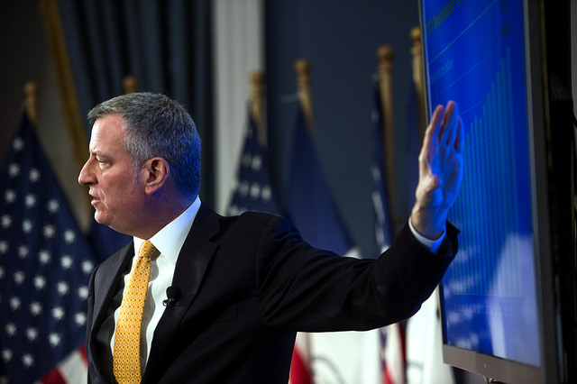 de blasio presents preliminary budget FY17