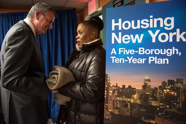 de blasio housing constituent